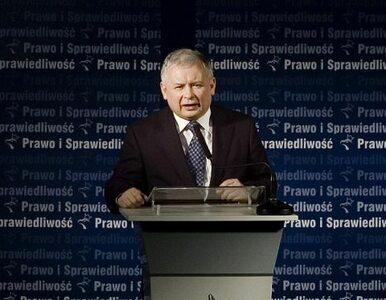 Kaczyński o informacji Tuska: zawód, ale nie zaskoczenie