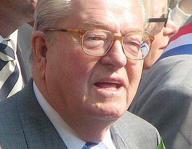 Jean-Marie Le Pen usunięty z Frontu Narodowego, który zakładał
