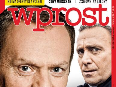 """Donald Tusk wraca i tworzy obóz polityczny. Co jeszcze w nowym """"Wprost""""?"""