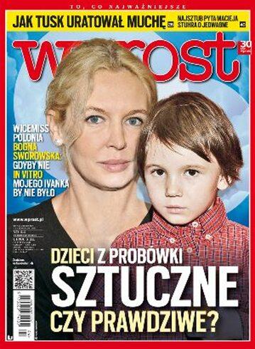 Okładka tygodnika Wprost nr 44/2012 (1550)