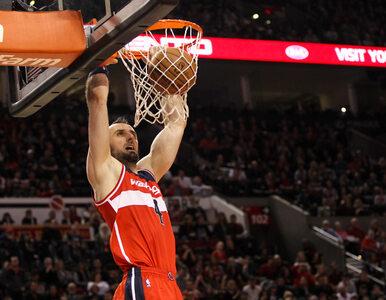 NBA: Wizards gromią Hornets. Dobry występ Gortata