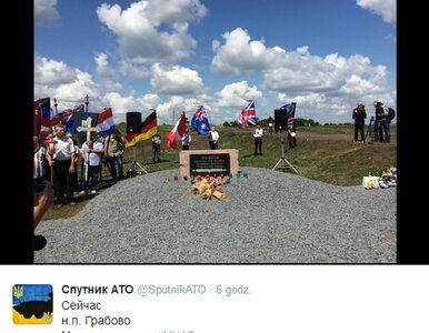 """Wiec rebeliantów. """"Jeden z nich pomylił flagę Polski z flagą Indonezji"""""""