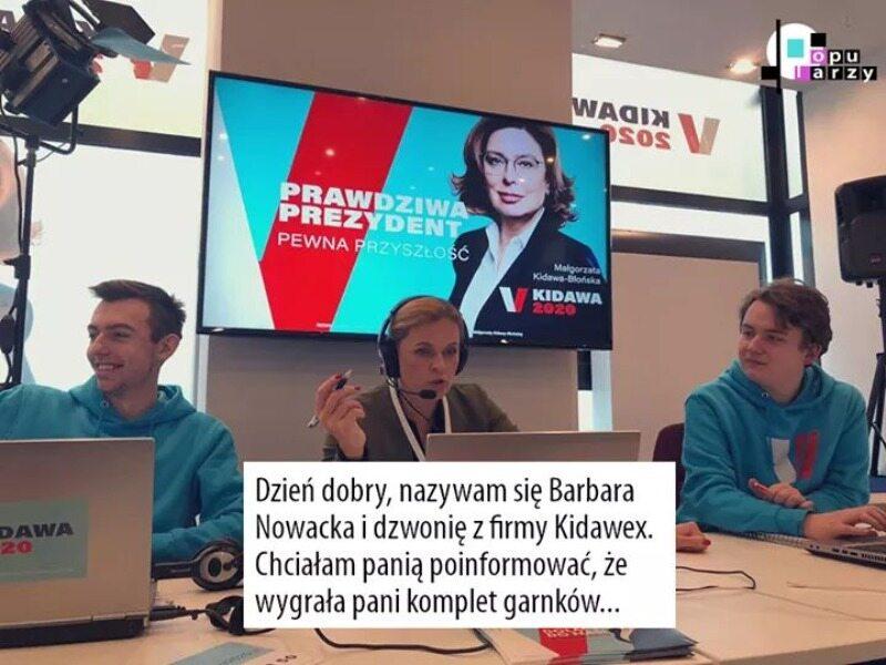 Kampania telefoniczna firmy Kidawex