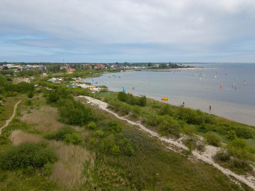 Plaża w Jastarni, zdjęcie ilustracyjne