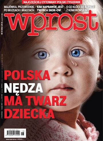 Okładka tygodnika Wprost nr 18/2015 (1677)