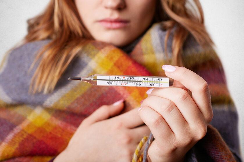 Przeziębienie, zdjęcie ilustracyjne