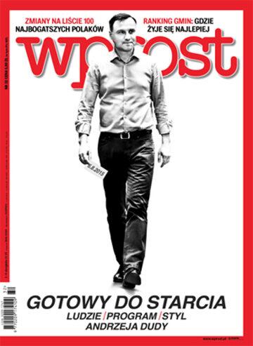 Okładka tygodnika Wprost nr 32/2015 (1691)