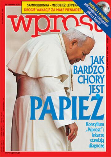 Okładka tygodnika Wprost nr 24/2002 (1020)