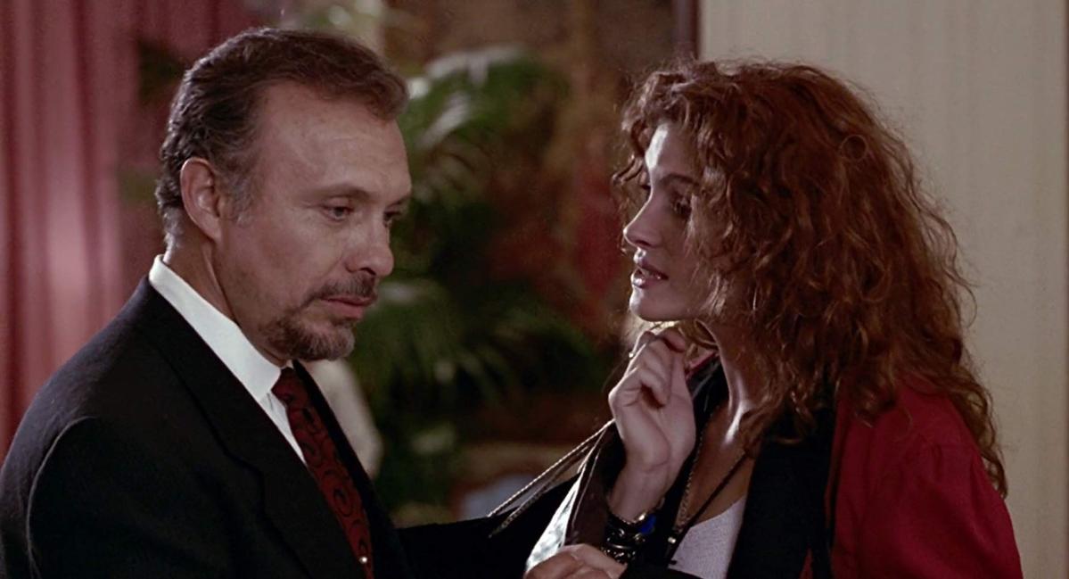 """Hector Elizondo jako Barney Thompson w filmie """"Pretty Woman"""""""