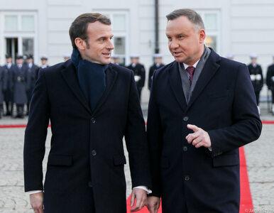 Wizyta Emmanuela Macrona w Polsce. Podpisano porozumienie o partnerstwie...