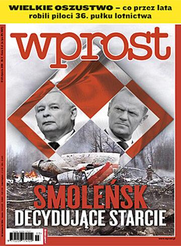 Okładka tygodnika WPROST: 3/2011