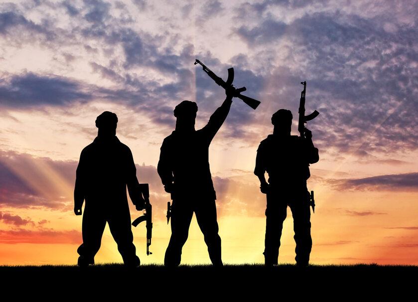 Dżihadyści z IS, zdjęcie ilustracyjne