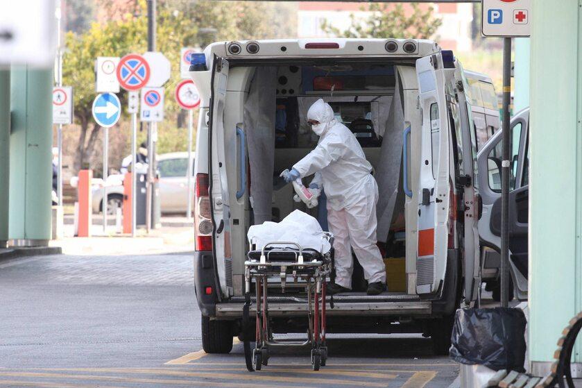 Ambulans sanitarny w Rzymie