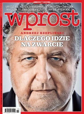 Okładka tygodnika Wprost nr 19/2016 (1735)