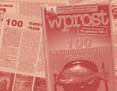 """Blisko 30 lat tradycji. Lista 100 Najbogatszych Polaków tygodnika """"Wprost"""""""