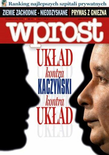 Okładka tygodnika Wprost nr 40/2006 (1242)