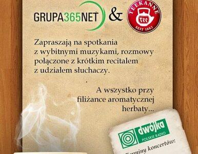 """GRUPA 365NET i TEEKANNE zapraszają na audycję """"Five o'clock"""""""