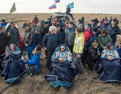 """Członkowie załogi ISS powrócili na Ziemię. """"Wszyscy są w świetnej formie"""""""