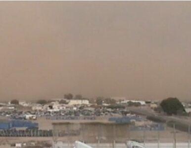 Zobacz burzę piaskową nad Arizoną