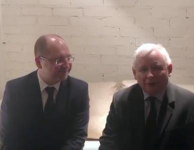 Bielan opublikował w sieci filmik z Kaczyńskim. Prezes PiS przyznał się...