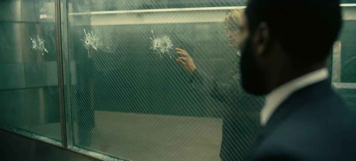 "Kadr z filmu ""Tenet"""