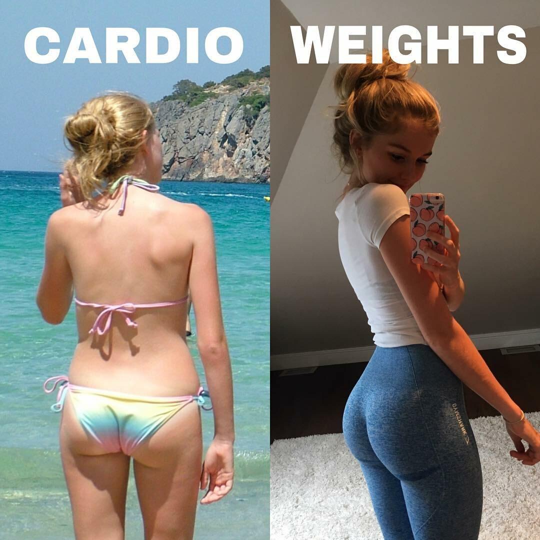 Rebecca Catherine Smith / trening kardio / trening siłowy