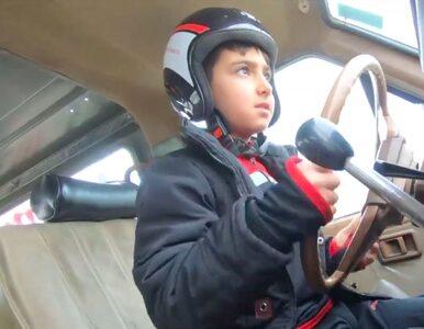 Ten kierowca wygra Dakar. Na razie ma... 9 lat i już jest gwiazdą