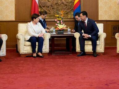 Premier Beata Szydło spotkała się z premierem Mongolii