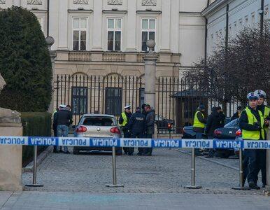 Potrącony w pobliżu Pałacu Prezydenckiego policjant, wyszedł już ze...
