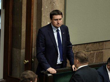 Poseł PiS Łukasz Zbonikowski winny naruszenia nietykalności żony, ale...