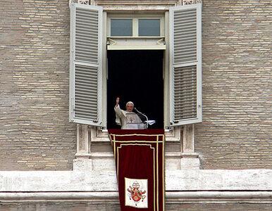 Benedykt XVI rozwiązał konflikt interesów w Watykanie