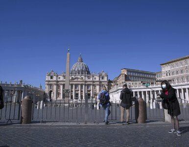 Watykan. Papieskie uroczystości Wielkiego Tygodnia bez udziału wiernych