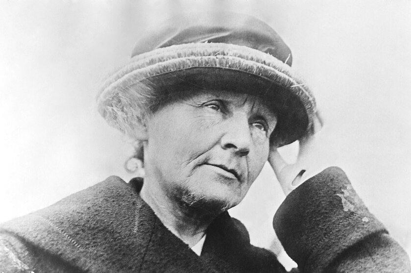 Maria Skłodowska-Curie w 1921 roku