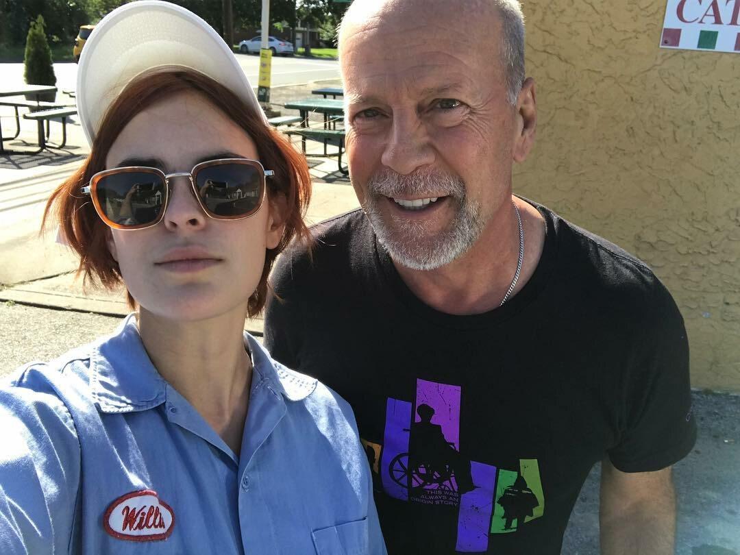 Tallulah Willis i Bruce Willis