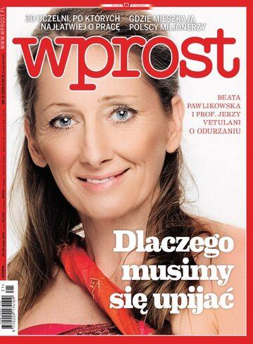 Okładka tygodnika Wprost nr 21/2016 (1737)