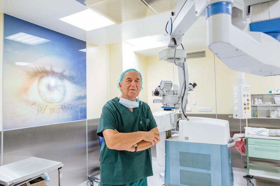 Prof. Jerzy Szaflik, Centrum Mikrochirurgii Oka Laser