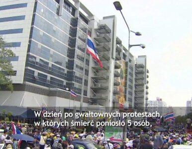 Protestujący ponownie wyszli na ulice Bangkoku