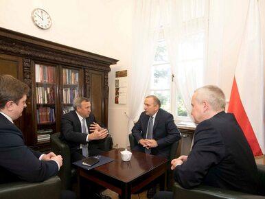 Schetyna spotkał się z ambasadorem Ukrainy w Polsce. O czym rozmawiali?