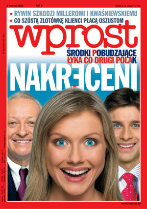Okładka tygodnika Wprost nr 9/2003 (1057)