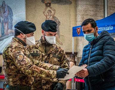 2000 nowych zakażeń we Włoszech, 200 ofiar śmiertelnych. Nowy bilans...