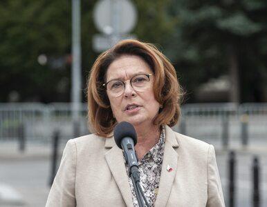 """PO nie pozwoli Kidawie-Błońskiej wycofać się z wyborów. """"Padło o kilka..."""