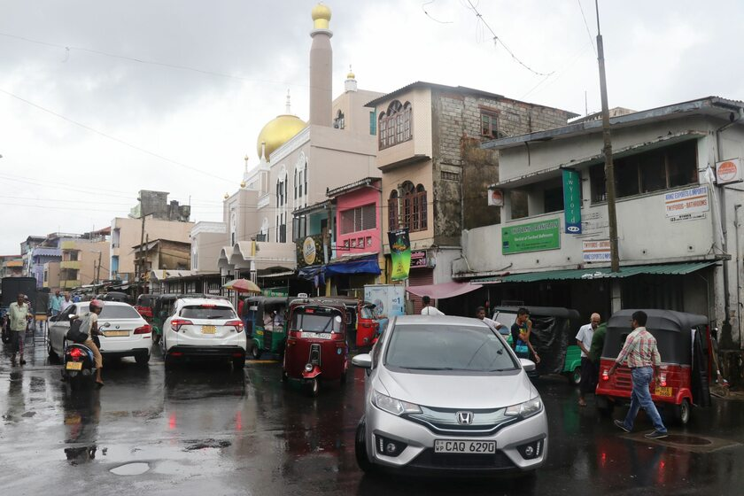Kolombo, stolica Sri Lanki