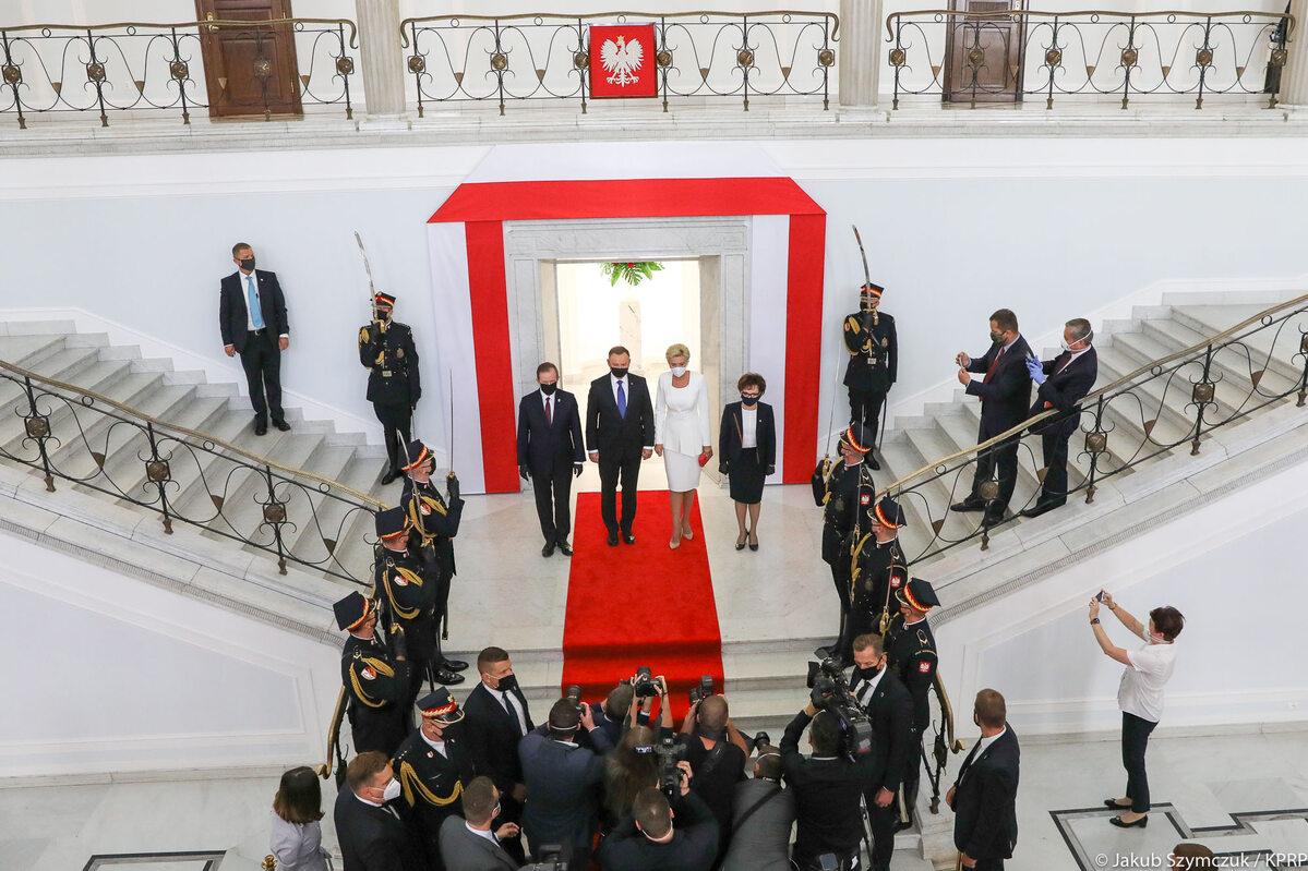 Zaprzysiężenie Andrzeja Dudy