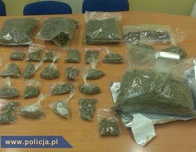CBŚ przejęło 4 kilogramy marihuany