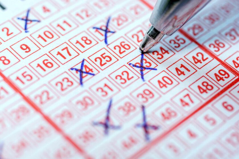 Lotto, loteria, zdjęcie ilustracyjne