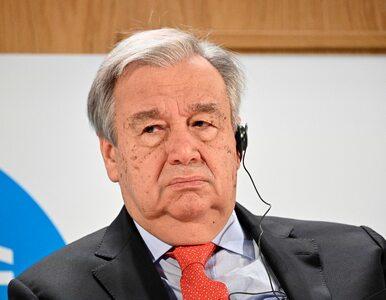Sekretarz generalny ONZ nie ma dobrych wieści. Mówił o normalizacji...