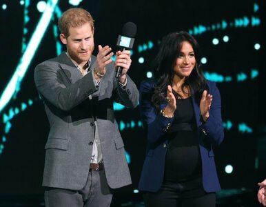 Książę Harry zaprosił księżną Meghan na scenę podczas WE Day. Tłum...