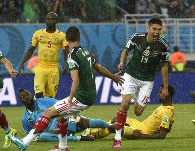 MŚ 2014: Meksyk lepszy od Kamerunu. Znowu koszmarne sędziowanie