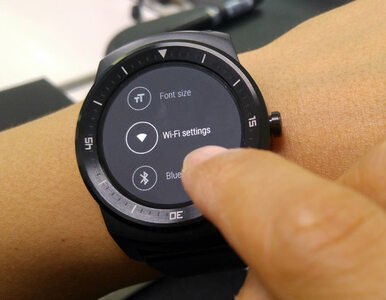 LG G Watch R z obsługą WiFi