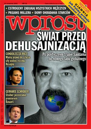 Okładka tygodnika Wprost nr 38/2002 (1034)
